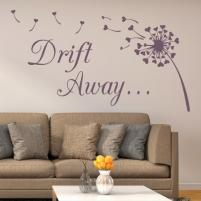 Sticker decorativ Drift away - Sticker pentru sufragerie