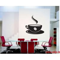 Sticker decorativ Ceasca de cafea