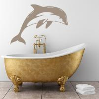 Sticker decorativ Delfin - Sticker pentru baie sau decor de camera
