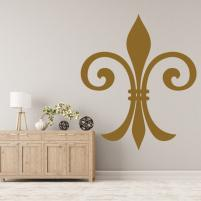 Sticker decorativ Arabesc floral Francez - Sticker pentru living